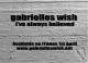 Gabrielles Wish - I've Always Believed – Single Review