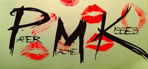 Paper Mache Kisses