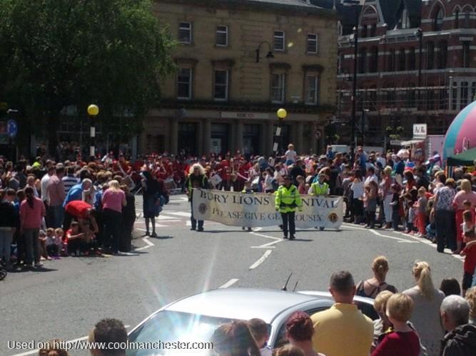 Long Shot of the Parade Start