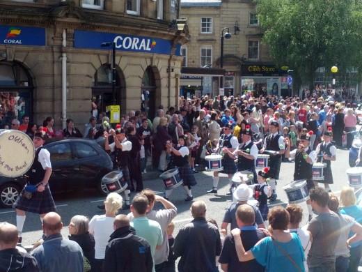 Oldham Scottish Pipe Band